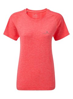Ron Hill Ron Hill Infinity Marathon Shirt Laufendes Shirt Damen Pink