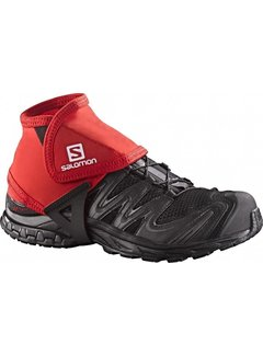 Salomon Salomon Trail Gamaschen Low Red