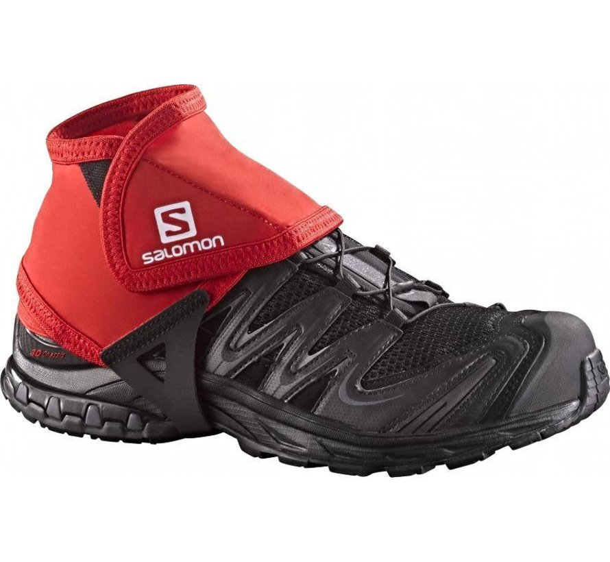 Salomon Trail Gaiters Laag Rood