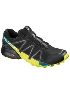 Salomon Salomon Speedcross 4 Trailrun Shoe Black / Yellow Men