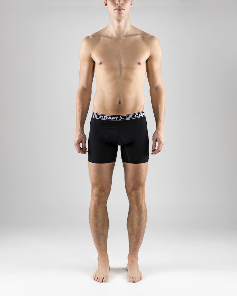 los angeles amazon huge selection of Craft Craft Greatness Boxer 6 Inch Black Men's Sports Underwear