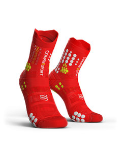 Compressport Compressport Pro Racing Socks V3.0 Trail Smart Rood Trailrunsokken