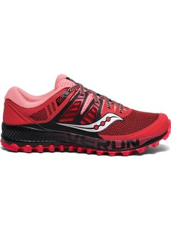 Saucony Saucony Peregrine ISO Trail running shoe Ladies Red