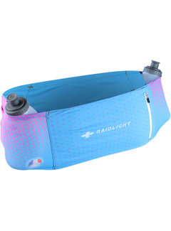 Raidlight Raidlight Stretch Raider Belt Blauw/Roze Hardloopriem