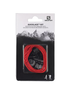 Salomon Salomon Quicklace Kit Schnürsystem Rot