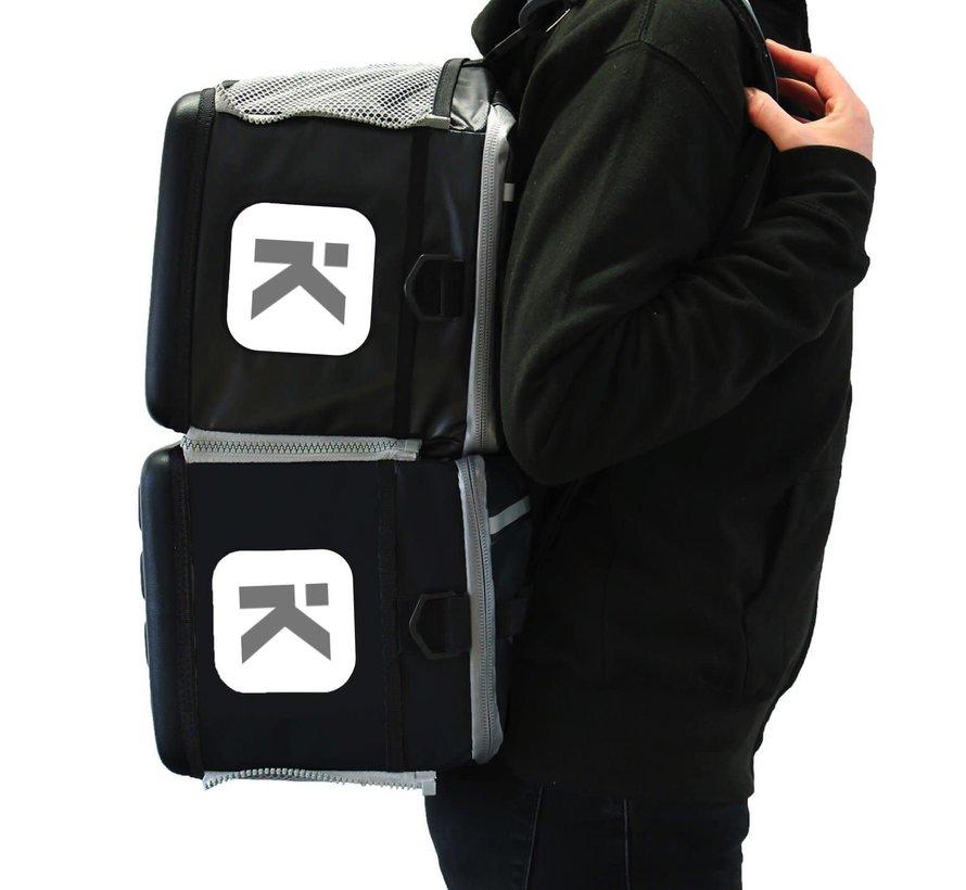 KitBrix Grijs Sporttas 20 Liter
