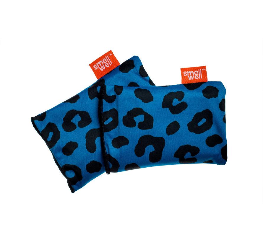 SmellWell Active Regular Leopard Blue (2 stuks)