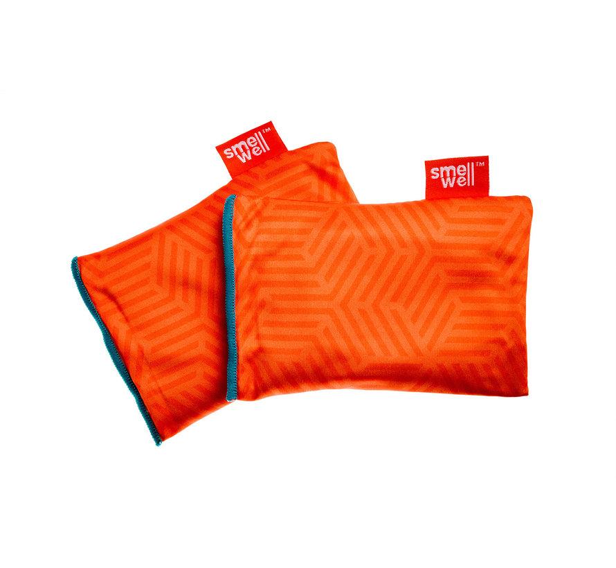 SmellWell Active Regular Geometric Orange (2 stuks)