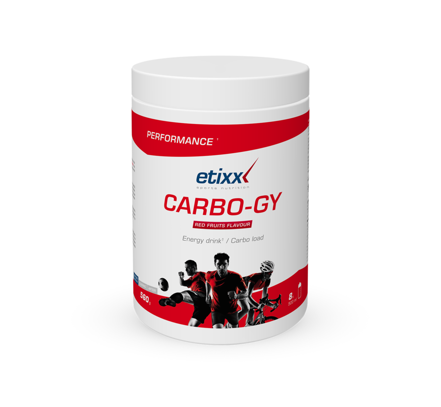 Etixx Performance - Carbo-GY Red Fruits Carboloader 560 gram