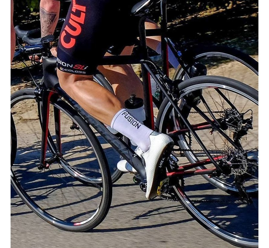 Fusion PWR Cycle Sock CLX Wit