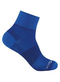 Wrightsock Wrightsock Coolmesh II Quarter Sportsok Blauw