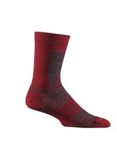 Wrightsock Wrightsock Merino Coolmesh Crew Red Sport socks