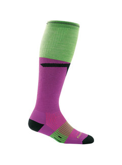 Darn Tough Darn Tough Edge OTC Sport Socks Ladies Purple Light-Cushion