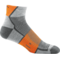 Darn Tough Endurance Grit 1/4 Merino Grijs/Oranje Sportsokken