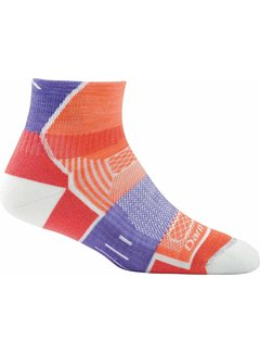 Darn Tough Darn Tough Endurance BMP 1/4 Sport Socks Ladies Merino Coral