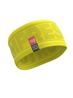 Compressport Compressport Stirnband Ein / Aus Gelb Einheitsgröße