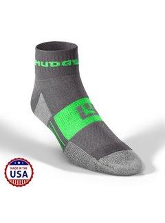 Mudgear Mudgear Trailrun Socken Grau / Grün