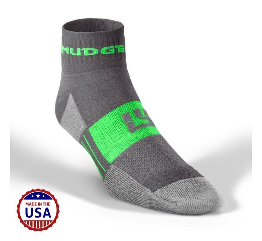 Mudgear Trailrun Socken Grau / Grün