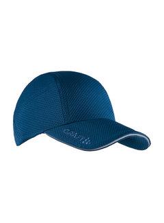 Craft Craft Run Cap Nox Donkerblauw