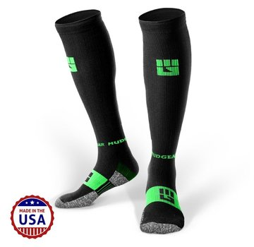 Mudgear Mudgear OCR Compression Socks Black / Green