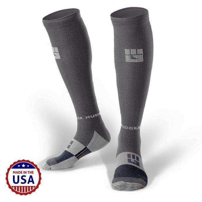 Mudgear OCR Compression Socks Gray / Gray