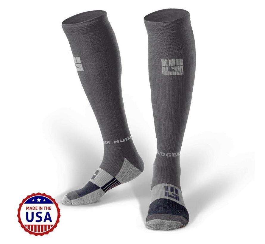 Mudgear OCR Compression Socks Grau / Grau