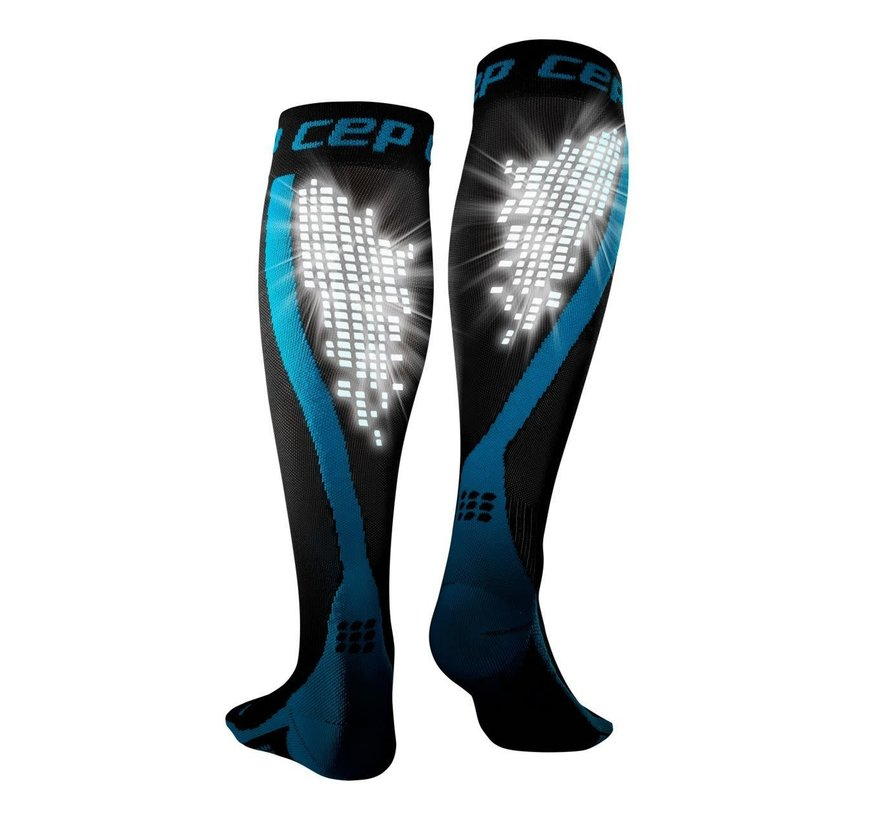 CEP nighttech socks, blue, men
