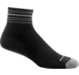 Darn Tough 1/4 Black Coolmax Sportsocken Unisex
