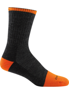 Darn Tough Darn Tough Steely Micro Crew Cushion Gray Coolmax Sports Socks Unisex