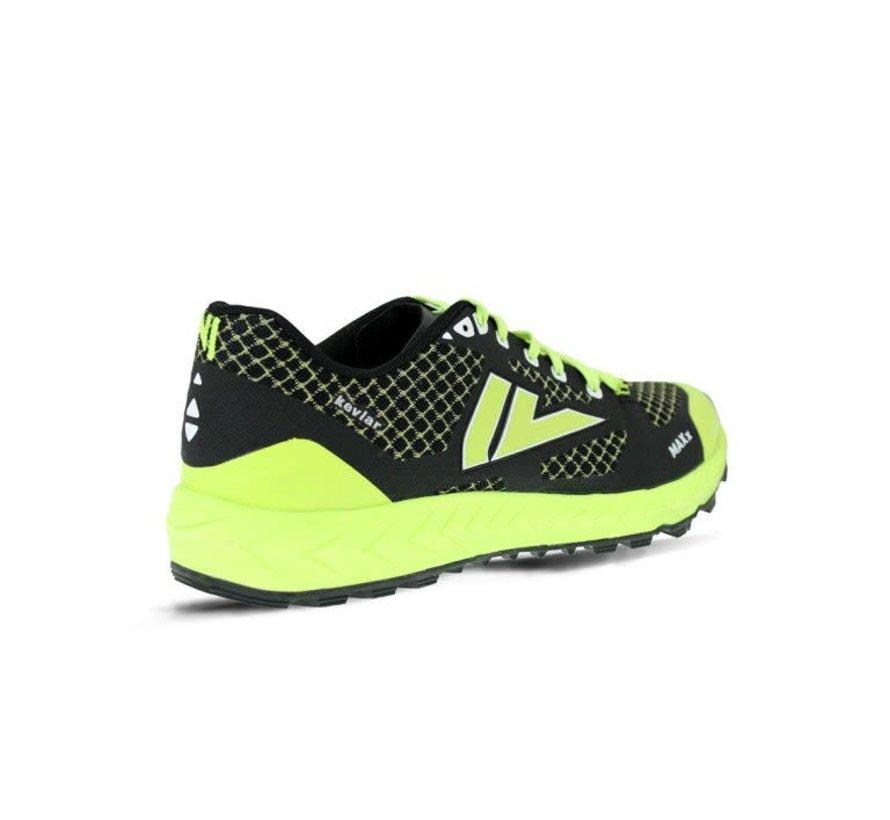 VJ Sport MAXx Trail running shoe Unisex Black / Yellow