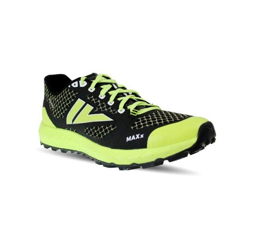VJ Sport MAXx Trail Running Schuh Unisex Schwarz / Gelb