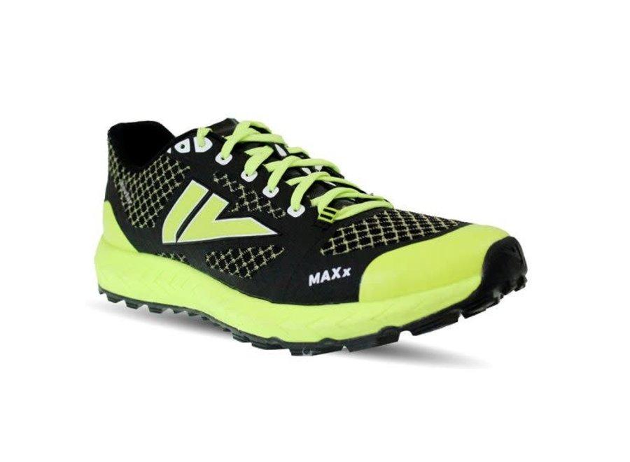 VJ Sport MAXx Trailrunschoen Unisex Zwart/Geel