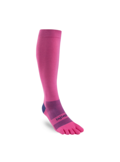 Injinji Injinji Compression Stockings Pink Toe Socks