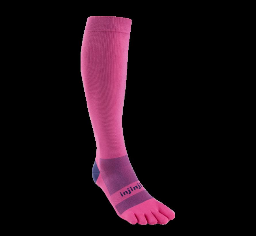 Injinji Compression Stockings Pink Toe Socks