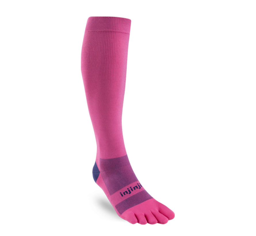 Injinji Kompressionsstrümpfe Pink Toe Socks