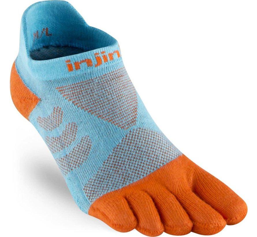 Injinji Ultra Run No Show Toe Socks Gills Ladies