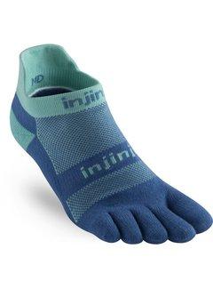 Injinji Injinji Run Midweight No Show Toe Socks Seaside