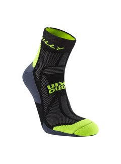 Hilly Hilly Off Road Midweight Single Trailrun Socks Black / Yellow