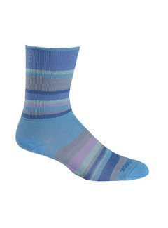 Wrightsock Wrightsock Stride Crew Light blue Midweight Sport socks