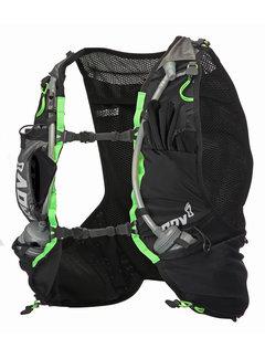 Inov-8 Inov-8 Race Ultra Pro 5 Vest Zwart/Groen Unisex Trailrunningvest