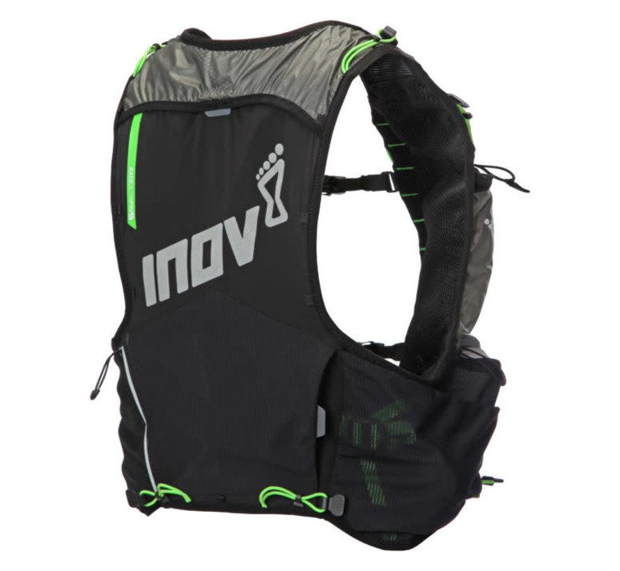 Inov-8 Race Ultra Pro 5 Vest Zwart/Groen Unisex Trailrunningvest