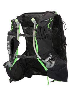 Inov-8 Inov-8 Race Ultra Pro 2-in-1 Vest Zwart/Groen Unisex Trailrunningvest