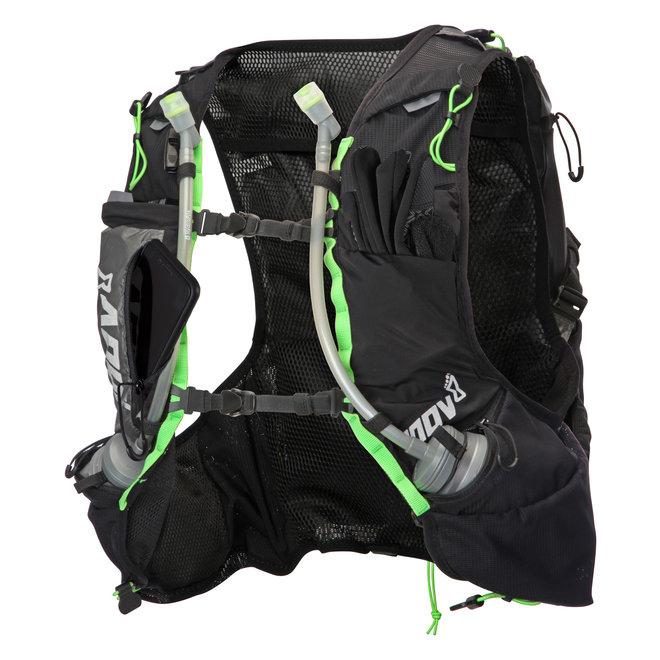 Inov-8 Race Ultra Pro 2-in-1 Vest Zwart/Groen Unisex Trailrunningvest