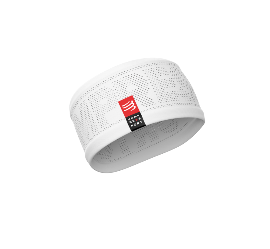 Compressport Headband On / Off White One Size
