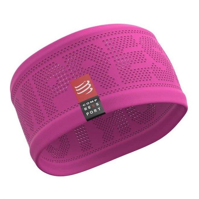 Compressport Headband On / Off Pink One Size