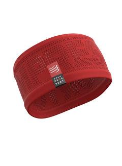 Compressport Compressport Stirnband Ein / Aus Rot / Orange Einheitsgröße