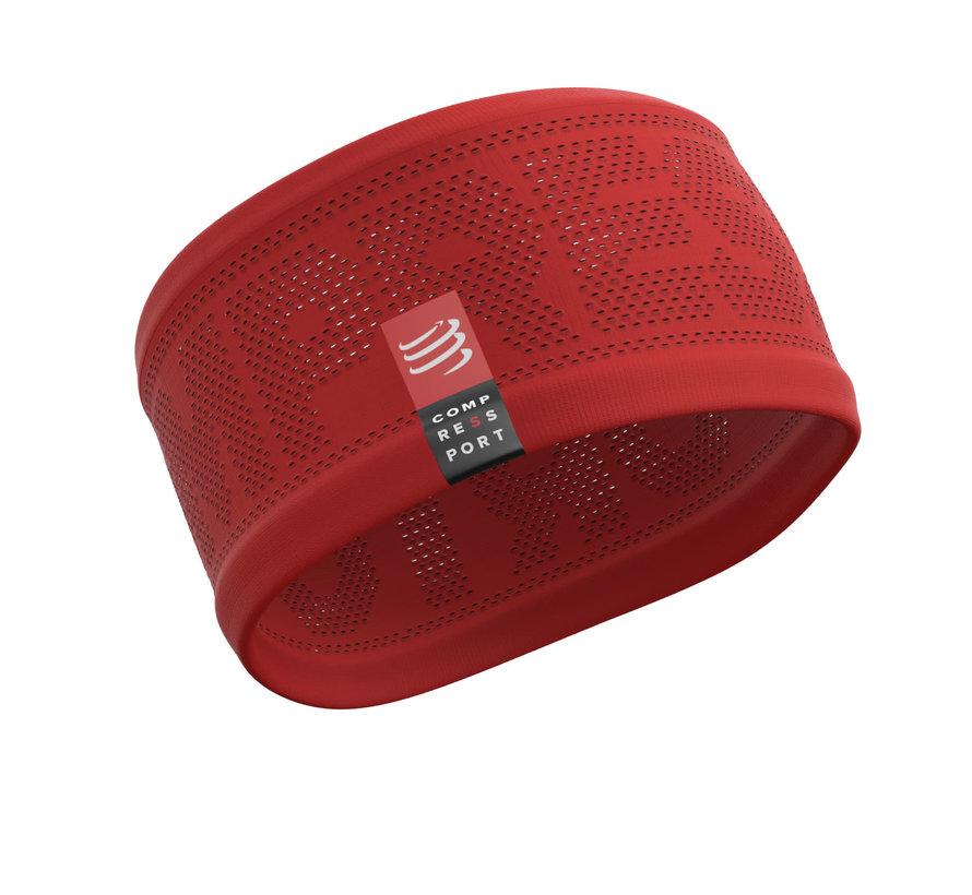 Compressport Stirnband Ein / Aus Rot / Orange Einheitsgröße