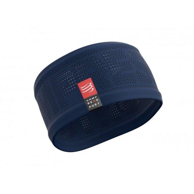 Compressport Stirnband Ein / Aus Blau Einheitsgröße