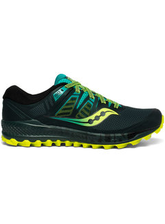 Saucony Saucony Peregrine ISO Trail running shoe Men Green