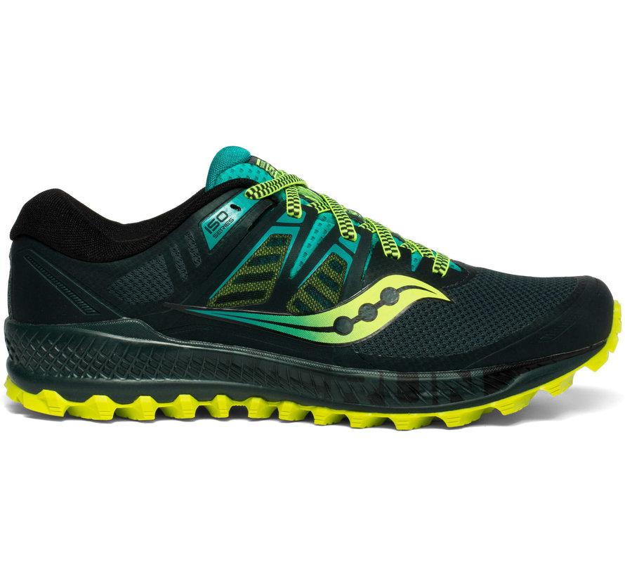 Saucony Peregrine ISO Trailrunning Schuh Men Green